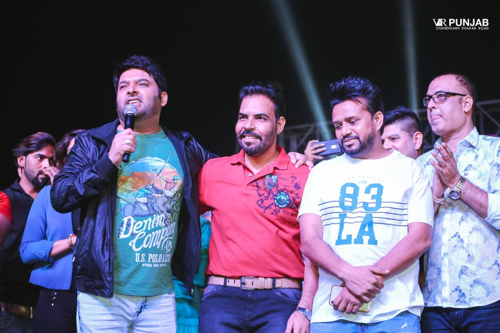 Kapil Sharma Promotional Tour of Son of Manjeet Singh . 11th Oct,2018