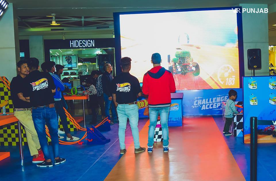 Hot Wheels At VR Punjab - Let the games begin !