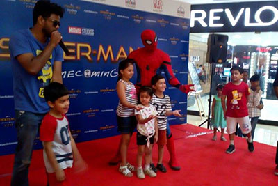 Meet Spiderman: 8th July