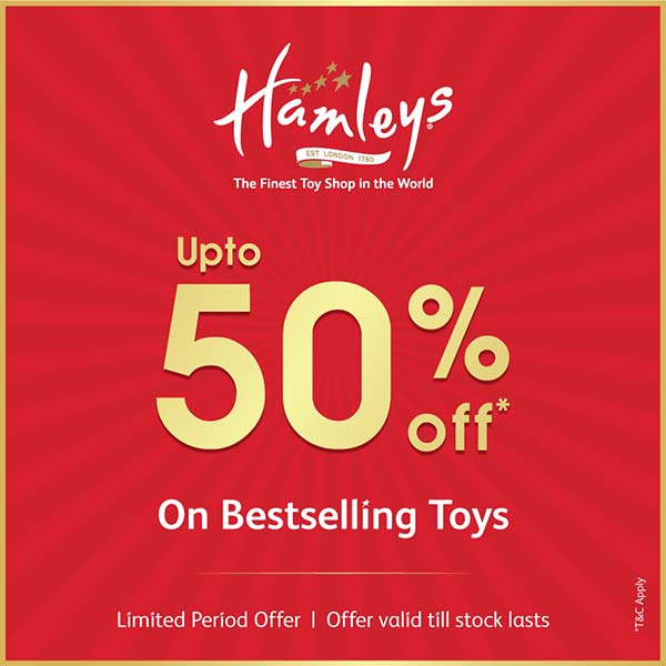 Upto 50% off* On Bestselling Toys