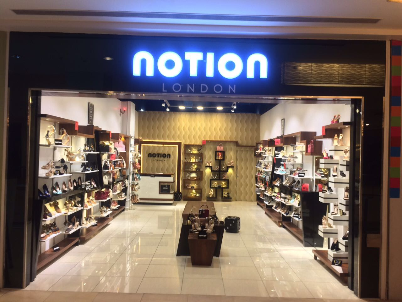 Notion London Store at VRP